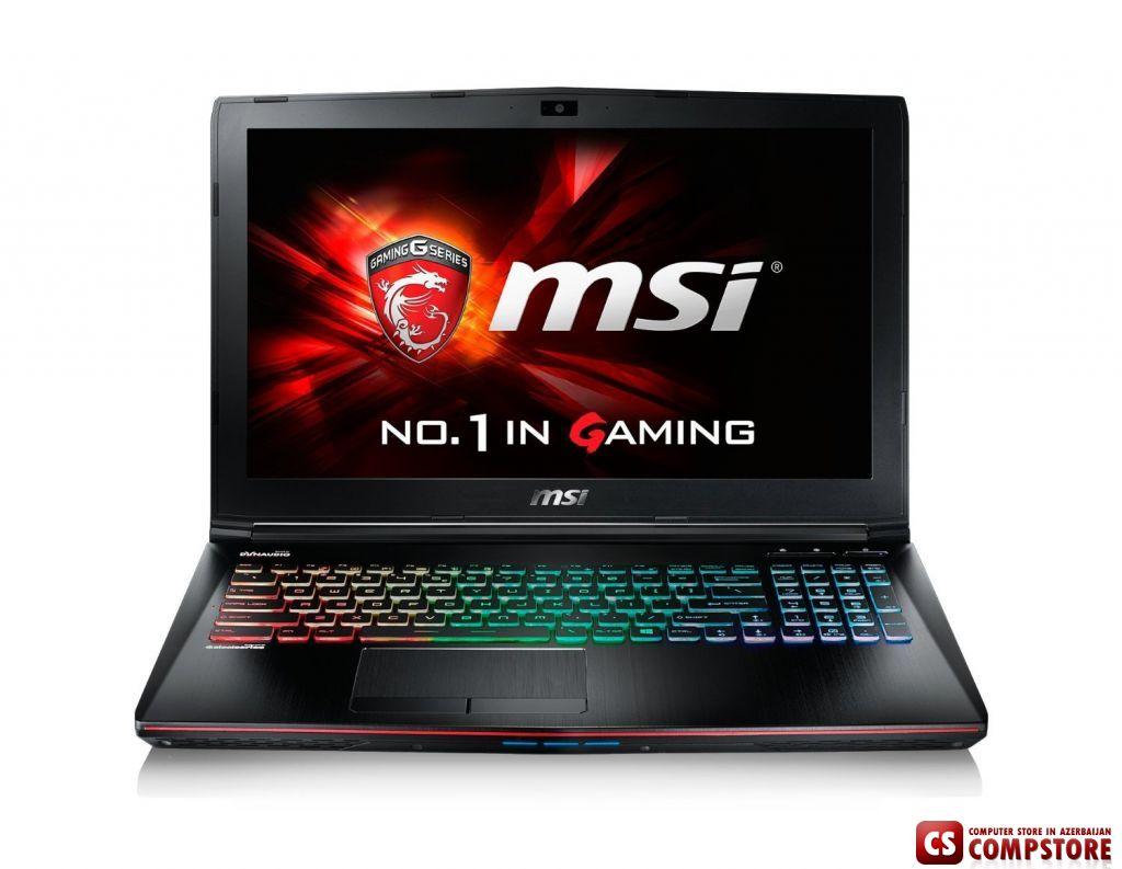 Новый игровой ноутбук MSI в интернет магазине в Баку