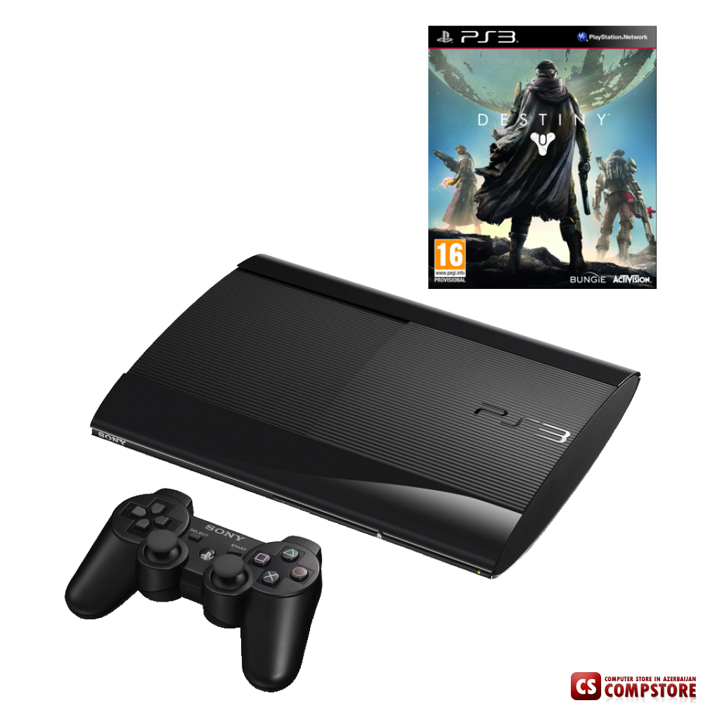 Sony Playstation PS3 Super Slim 500Gb в Баку цена, характеристика,review, купить дешево, Qiymeti ...