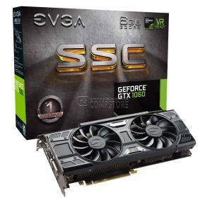 EVGA GEFORCE® GTX 1060 SSC GAMING (06G-P4-6267-KR) (6 GB | 192 Bit)