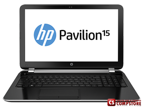 "Ноутбук HP Pavilion 15-n080er (F4V34EA) (Intel® Core™ i7-4500U/ DDR3 8 GB/ 1 TB HDD/ NVIDIA GeForce GT 740M 2 GB/ LED 15.6"" / Bluetooth/ Wi-Fi/ Webcam/ DVD RW/ Win8)"