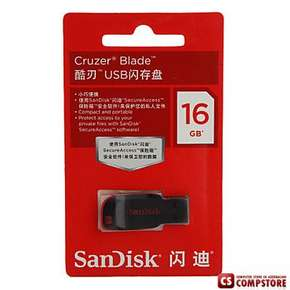 USB Flash Drive Cruzer Blade 16 GB (SDCZ50-016G-B35)