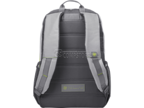 HP Active Backpack (Grey/Neon Yellow) 39.62 cm 15.6-inch (1LU23AA)