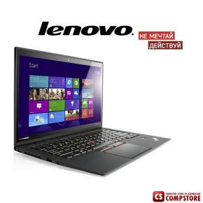 Ультрабук Lenovo ThinkPad X1 Carbon Gen3 (20BS006MRT) (Intel® Core™ i5-5200U/ 8 GB DDR3L/ SSD 256 ГБ/ IPS WQHD LED 14 / Win 8.1)