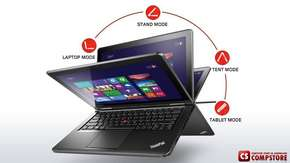 "Ультрабук Lenovo ThinkPad Yoga S1 (20CD00DMRT) (Intel® Core™ i5-4510U/ 8 GB DDR3/ SSD 256 ГБ/ Intel HD4400 / Full HD 12.5"" / Wi-Fi/ Bluetooth/ Win8.1 Pro)"