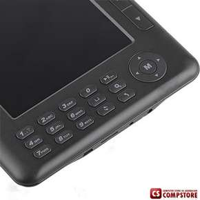 "E-Book Reader Digital Pocket Edition Media Player/ FM Radio/ MP3/ MP5/Voice Recorder 4GB Flash 7"" TFT"