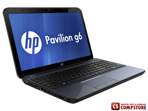 "Ноутбук HP Pavilion G6-2333er (D3D87EA)  (AMD Quad-Core A6-4400M Trinity  2.7 GHz / DDR3 6 GB/ AMD Radeon 7670M 1 GB/ HDD 750 GB/ Display 15""6 LED/ DVD RW/ Bluetooth/ Wi-Fi/ USB 3.0)"