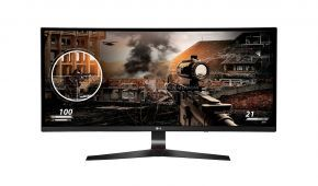 LG UltraWide Curved 34-inch 34UC79G-B Gaming Monitor (34-inch | 144 MHz |  AMD FreeSync™ | USB | DP | HDMI)
