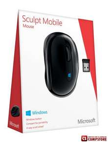 Беспроводная мышь Microsoft Wireless Sculpt Mobile Mouse (43U-00004)