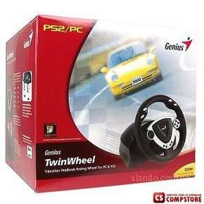 Genius TwinWheel Racing Whell