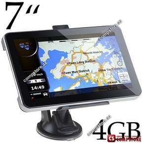 "GPS навигатор 7"" Touch Screen Windows CE 5.0 OS 4GB Memory Car GPS Navigator ( Navigation with FM Transmitter)"