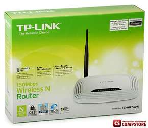 TP-Link TL-WR740N 150mbs Wirelles router