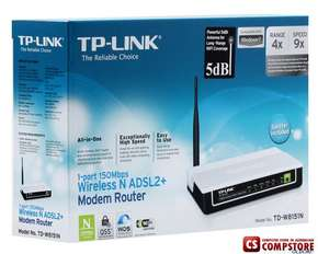 ADSL Modem TP-Link TD-W8151ND Wireless
