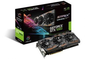 ASUS GEFORCE® ROG STRIX GTX 1060 (STRIX-GTX1060-6G-GAMING) (6 GB | 192 Bit)