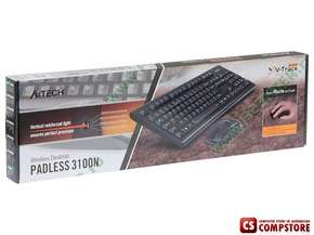 Keyboard, Mouse A4Tech 3100N V-Track Wireless Desktop (PADLESS)