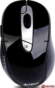 Wireless Mouse A4Tech G11-570HX DustFree HD Mouse Black-Silver