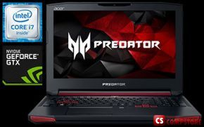 "Acer Predator 15 G9-591-765T (NX.Q05ER.001) (Intel® Core™ i7-6700HQ/ DDR3L 32 GB/ NVIDIA GeForce GTX980M/ HDD 2 TB/ SSD 256/ 15.6"" FHD LED)"