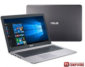 ASUS K501UW-AB78 (90NB0BQ2-M00310) Gaming Notebook (Intel® Core™ i7-6500U/ DDR4 8 GB/ SSD 512 GB/ 15.6