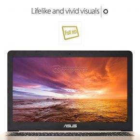 ASUS VivoBook M580VD-EB54 (Intel® Core™ i5-7300HQ/ DDR4 8 GB/ HDD 1 TB/ LED FHD 15.6/ NVIDIA® GeForce® GTX1050 2 GB/ Wi-Fi/ Win10)