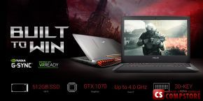"ASUS ROG G752VS-GC063T (90NB0D71-M03490) (Intel® Core™ i7-6700HQ / DDR4 16 GB/ HDD 1 TB/ GeForce GTX 1070M 8 GB/ FHD LED 17.3"" / Wi-Fi/ Webcam/ DVD RW/ Win10)"