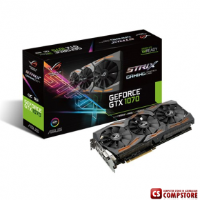 ASUS GEFORCE® GTX ROG STRIX-GTX1070-O8G-GAMING (8 GB | 256 bit)