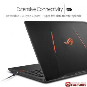 "ASUS ROG Strix GL553VD (Intel® Core i7-7700HQ / DDR4 16 GB/ HDD 1 TB/ FHD LED 15.6""/ GeForce GTX1050 4 GB/ Wi-Fi/ DVD RW/ Win 10)"