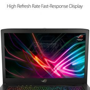 ASUS ROG Strix GL703GS-E5011 Scar Edition (Intel® Core™ i7-8750H/ DDR4 16 GB/ SSD 256 GB/ HDD 1 TB/ NVIDIA® GeForce® GTX1070 8 GB/ FHD 17,3-inch 144 Hz/ Wi-Fi)