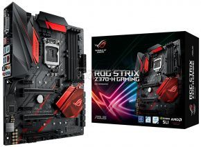 Mainboard ASUS ROG STRIX Z370-H GAMING (LGA1151 | DDR4 | DP | HDMI | M.2 | USB 3.1 | SLI | CrossFire)