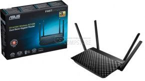 ASUS RT-AC58U Wireless-AC1300 Dual Band Router (2.4 Ghz | 5 GHz | 3G/4G)
