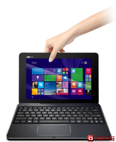 "ASUS Transformer Book T100 Chi (T100CHI-C1-BK) (Intel® Pentium/ FHD 10.1""/ DDR3L 2 GB/ SSD 64 GB/ Intel HD/ Wi-Fi/ BT/ Win 8.1)"