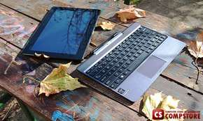 "Ноутбук Планшет Asus Transformer T100T (T100TA-DK005H) (Intel® Atom™ Processor Z3740 / 2 GB/ 32 GB SSD/ 500 GB HDD/ 10.1"" Multitouch IPS/ Wi-Fi 802.11n/ Bluetooth 4.0/ Webcamera / Windows 8.1)"