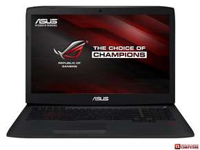 ASUS G751J (G751JT-T7042H) Republic Of Gamers (Core i7-4710HQ/ DDR3L 16 GB/ HDD 1 TB/ nVidia GTX970 3 GB/ 17.3 FHD/ BluRay/ Win 8.1)
