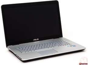 Ноутбук ASUS N751JK-T4168H (Intel® Core™ i7-4710HQ/ DDR3L 8 GB/ LED 17.3 FHD/ 128 GB SSD/ 1 TB HDD/ nVidia GT850 4GB)