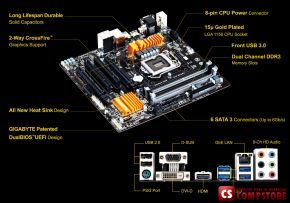 Mainboard Asus B85M-K (Intel® Socket 1150 for 4th Generation)