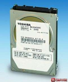 "Б/У HDD Toshiba 2.5"" 200 GB SATA (HDD для ноутбука)"