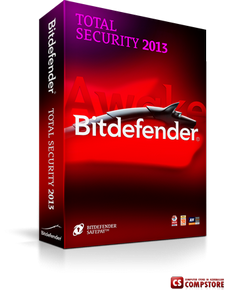 Bitdefender Total Security 2013 Ultimate Silent Security (1 пк 1 год)