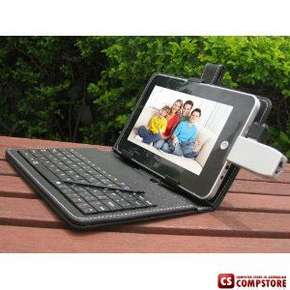 Cover Case & Stand with USB Keyboard for 10 inch Tablet PC Computer