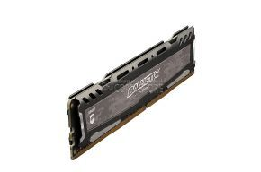 DDR4 Ballistix Sport LT 8GB Single DDR4 2400 MT/s (PC4-19200) DIMM 288-Pin  (Gray)