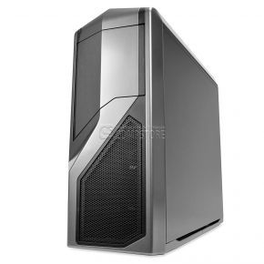 NZXT Phantom 410 Mid Tower Computer Case Gunmetal with Black Trim (CA-PH410-G1)