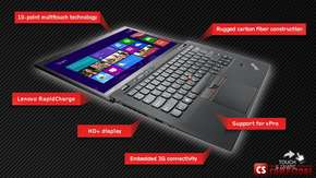 "Ультрабук Lenovo ThinkPad X1 Carbon (Intel® Core™ i5-4200U/ 8 GB DDR3/ SSD 256 ГБ/ Intel HD4500 / Touch IPS WQHD LED 14"" / Wi-Fi/ Bluetooth/ Win8.1/ 3G)"