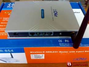 ADSL Modem CNET CAR-854 Wireless-G 4-port ADSL 2/2+ Router