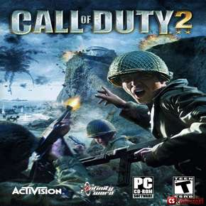 Лицензия для игры Call Of Duty 2  (CD-KEY - Worldwide сетевой)
