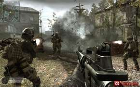 Лицензия для Call Of Duty 4  MW (CD-KEY - Worldwide)
