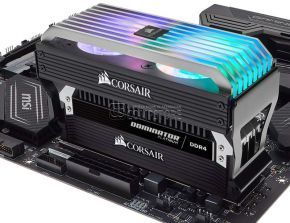 DDR4 Corsair DOMINATOR® PLATINUM RGB 32GB AirFlow Fan (4 x 8GB) 3866 MHz