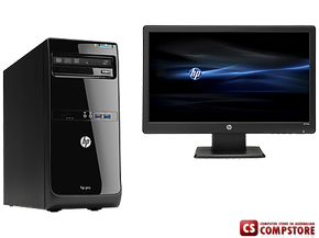 "Комплект ПК HP Pro 3500 в корпусе Microtower (D1V80EA) (Intel® Pentium® G2030/ DDR3 4 GB/ HDD 500 GB/ Intel HD/ HP WA2072 20""/ DVD RW)"
