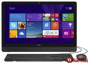 "Monoblok Dell Inspiron 3459 (210-AFDU_UBU) (Intel® Core™ i3-6100U/ DDR3L 4 GB/ 23.8"" FHD IPS/ HDD 1 TB/ Intel HD/ DVD RW)"