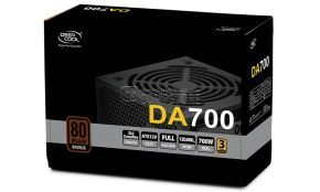 DeepCool DA700 700W 80 Plus Bronze (P/N:DP-BZ-DA700N) Power Supply