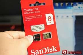 Флешь Память Sandisk Cruzer Fit 8 GB (USB Flash Drive)