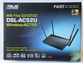 ASUS DSL-AC52U Wireless-AC750 Gigabit Modem Router (ADSL | VDSL | 4G | VPN)