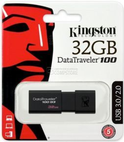 Kingston DataTraveler G3 100 32 GB USB 3.0 (DT100G3/32GB)