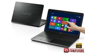 "SONY Vaio Fit F1521GCX/B (Intel® Core™ i7-3537U/ DDR3 12 GB/ 8 GB SSD+1000 GB HDD/ TouchScreen 15.5"" Full HD LED/ nVidia GT735 2 GB/ Bluetooth/ Wi-Fi/ Windows 8/ DVD RW)"